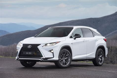 lexus rx 350 sports luxury 100 160 data details specifications which car