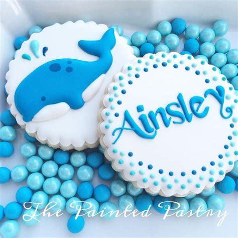 baby shark cookies 1000 ideas about whale cookies on pinterest fish