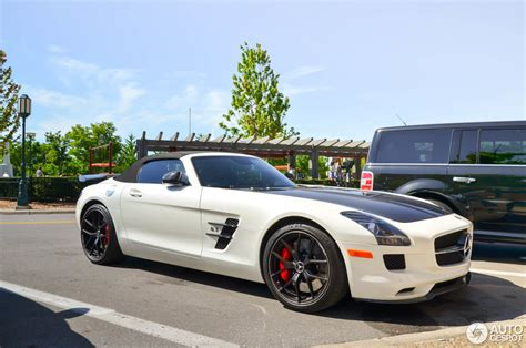 Mercedes Sls Amg Gt by Mercedes Sls Amg Gt Roadster Edition 23 July