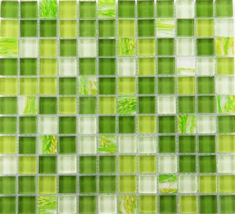 green mosaic tiles bathroom glass mosaic tile backsplash glass wall tiles yf mtlp22