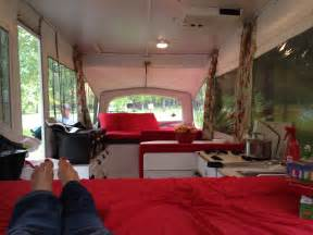 Pop Up Camper Interior Design Stella Or How An Old Pop Up Finds A New Identity