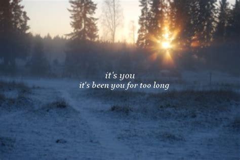 Snow Quotes Love