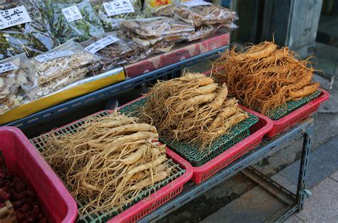 Shoo Ginseng fresh ginseng susam korean cooking ingredients