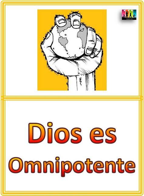 imagenes de dios omnipotente blog med amigos de jes 250 s lecciones atributos de dios