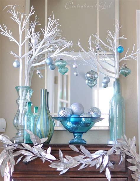 top blue  white blue  silver christmas decorations christmas celebration