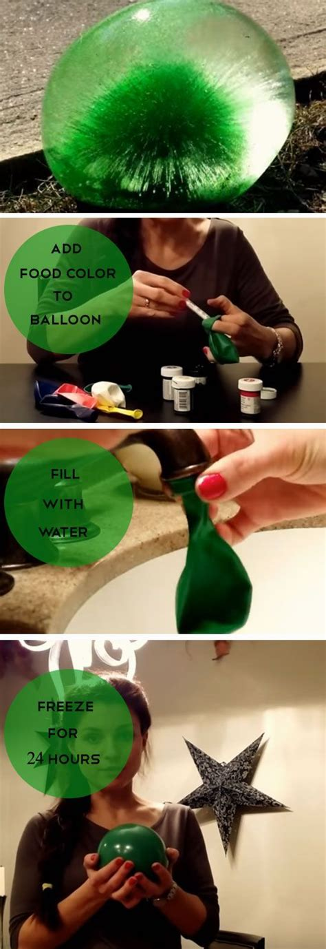 Things To Make Your Water by 25 Best Ideas About Frozen Water Balloons On