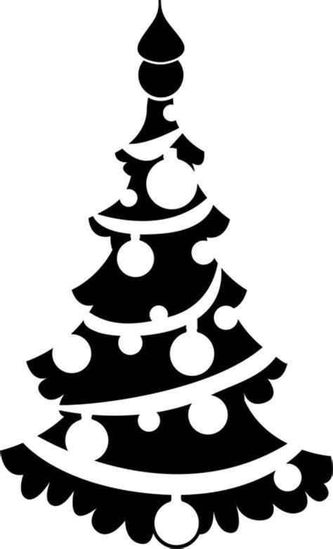 christmas tree 02 christmas stencils stencilease com