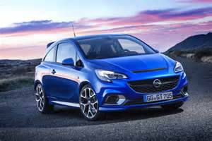 Opel Co Detailed 2016 Opel Corsa Opc