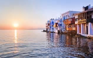 mykonos amp santorini in style   dmc greece destination conference