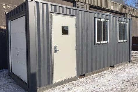 container industrial man door ats containers