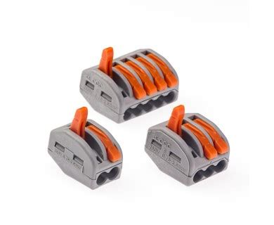 28 12 ga lever lock connect terminal blocks wire