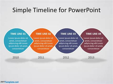 fresh powerpoint timeline template free free template 2018
