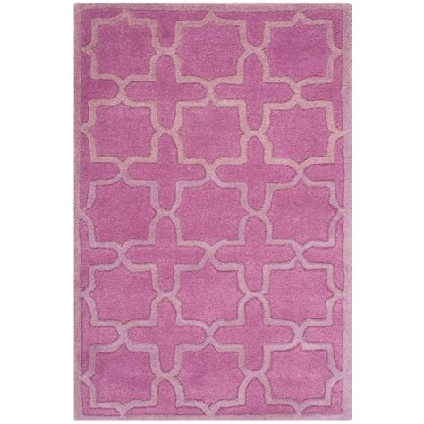 Safavieh Pink Rug Safavieh Arctic Shag Pink 3 Ft X 5 Ft Area Rug Sg270p 3 The Home Depot