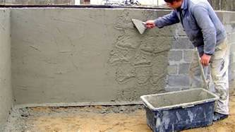 Shower Bathing how much cement sand and water is required for 12mm thick