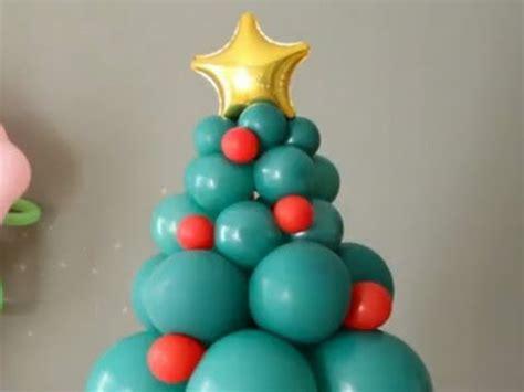 c 243 mo hacer un 225 rbol de navidad con globos 193 rbol de navidad