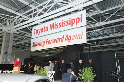 Toyota Blue Springs Ms Toyota Announces Start Of Hiring At Blue Springs Ms Plant