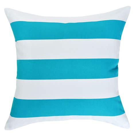 mallacoota turquoise outdoor cushion 45x45cm hupper