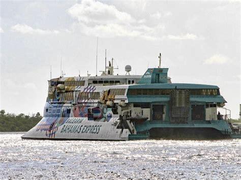 ferry express bahamas express ferry drawing complaints bahamas news