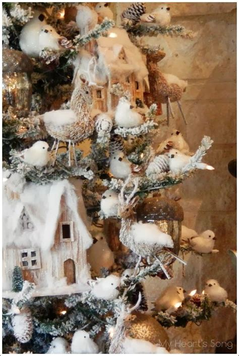 woodland rustic christmas tree my heart s song