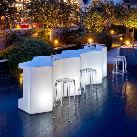 comptoir bar design bar modulable iceberg pedrali