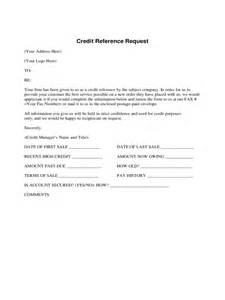 credit reference form 2 free templates in pdf word