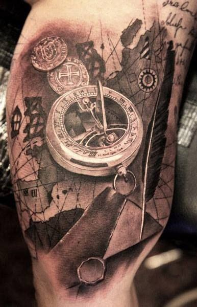 sundial tattoo sundial amazing detail tattoos