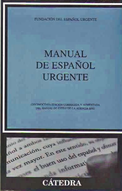 manual del espaaol urgente manual de espa 241 ol urgente girol books