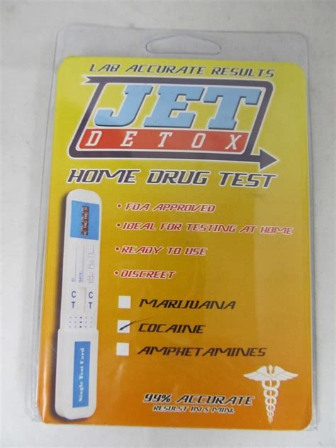 Jet Detox Home Test by Jet Coc Test Card 1ct