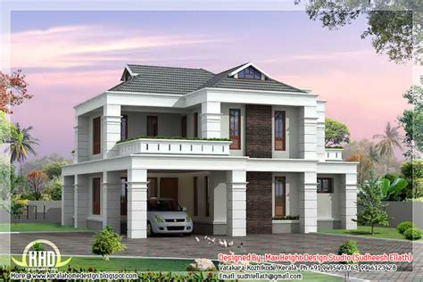 home design studio help 2000 sq feet 4 bedroom kerala villa design kerala home