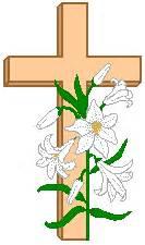 Lilies After Flowering - easter cross clip art clipart best