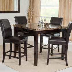 palazzo 5 counter height dining set dining table
