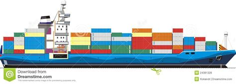 cargo boat clipart container vessel clipart clipground