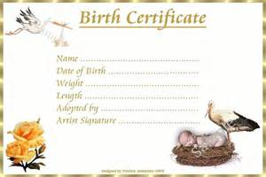 reborn birth certificate template pin printable baby certificate of birth name on
