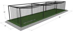 Best Backyard Golf Net Best Dimensions For A Softball Batting Cage
