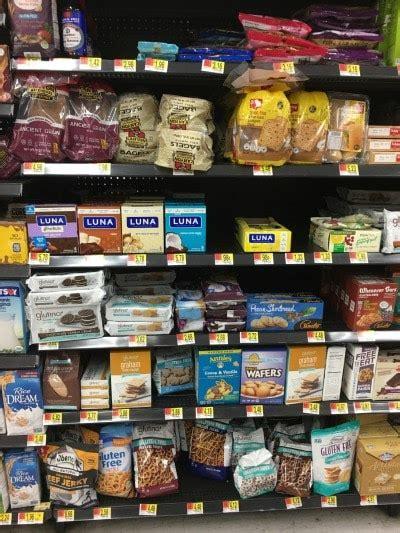 gluten free section at walmart gluten free products at walmart