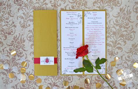 Hochzeitseinladung Ablauf by Zeremonie Kirchenheft Trauungsprogramm Feenstaub At