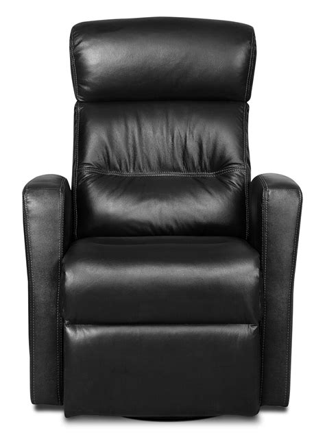 Leather Swivel Chair Recliner - genuine leather swivel rocker reclining chair
