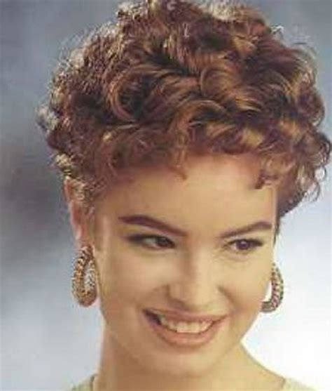 old perm hairstyles short curly permed hairstyles