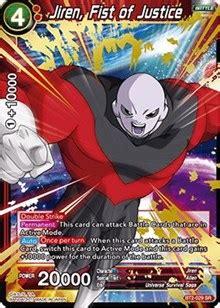 jiren, fist of justice union force, dragon ball super