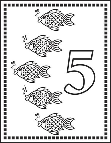 preschool coloring pages number 5 common worksheets 187 number 5 printable preschool and