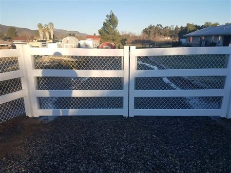 four rail vinyl fence highest quality fences in murrieta and temecula 3t fence