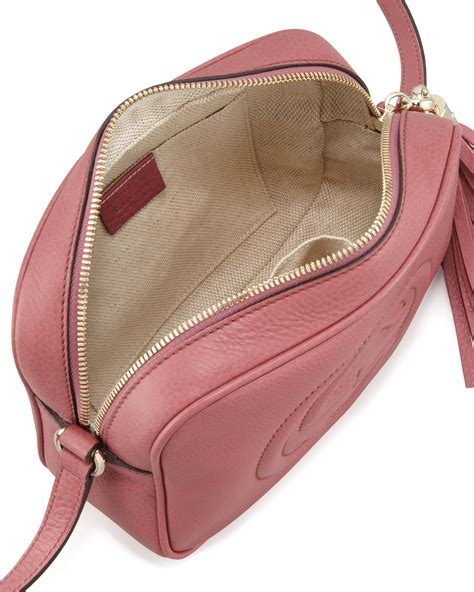 9885 3 Gucci 3 In 1 lyst gucci soho leather disco bag in pink