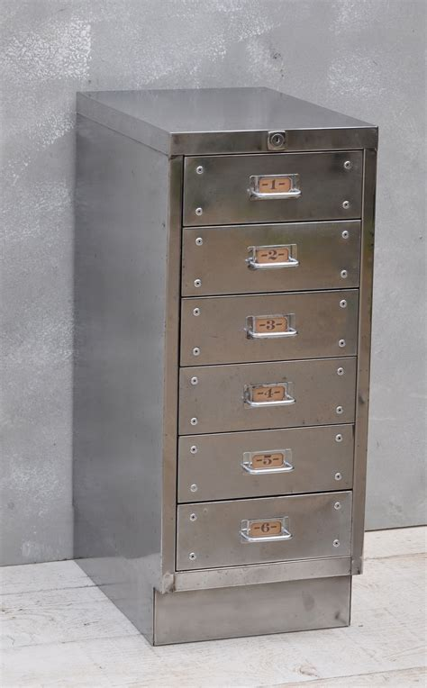 Industrial Cabinet by Vintage Industrial Steel Filing Cabinet 6 Drawer
