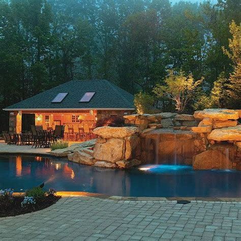 Pool Tour Backyard Turned Paradise Pool Houses Swim Backyard Paradise Ideas
