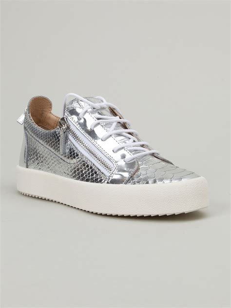 silver sneakers for silver metallic sneakers 28 images giuseppe zanotti