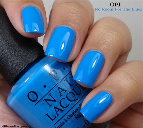 opi no room for the blues opi no room for the blues cause i m feeling blue of and lacquer