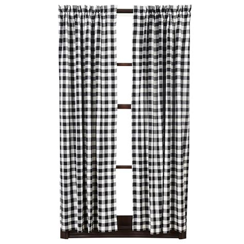 Black Check Curtains Black Check Curtains Primitive Burlap Black Check Shower Curtain Country Black And White