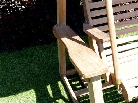 teak swing seat teak swing seat turnberry garden swing seat
