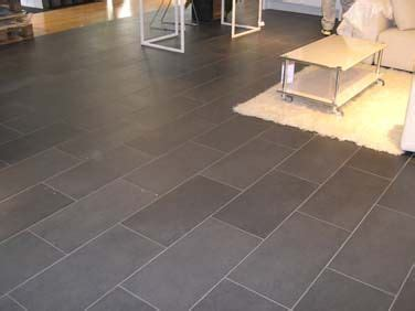 slate tile gray love this shape and layout for bathrooms laundry and foyer areas living