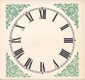 printable paper clock dials 36 best images about clocks on pinterest